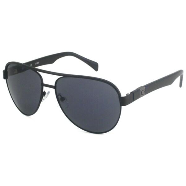Guess Men's GU6705 Aviator Sunglasses