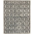 Safavieh Handmade Cambridge Moroccan Black Wool Area Rug (5' x 8')