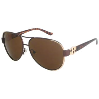 Guess Women's GU7132 Aviator Sunglasses