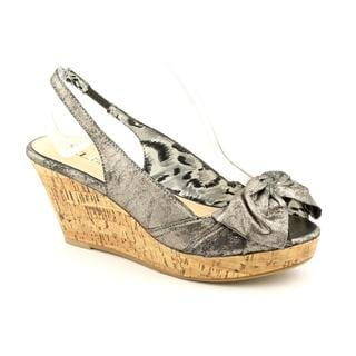 CL By Laundry Women's 'Unstoppable' Man-Made Sandals (Size 6.5)