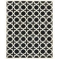 Safavieh Handmade Moroccan Cambridge Black Wool Rug (8' x 10')