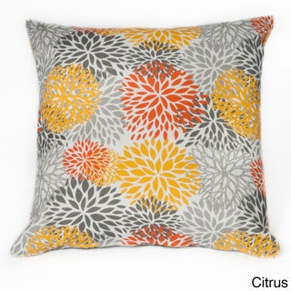 Blooms 20-inch Square Outdoor Throw Pillow