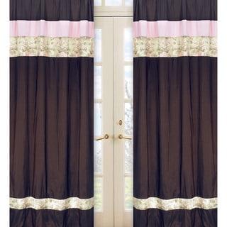 Abby Rose 84-inch Curtain Panel Pair
