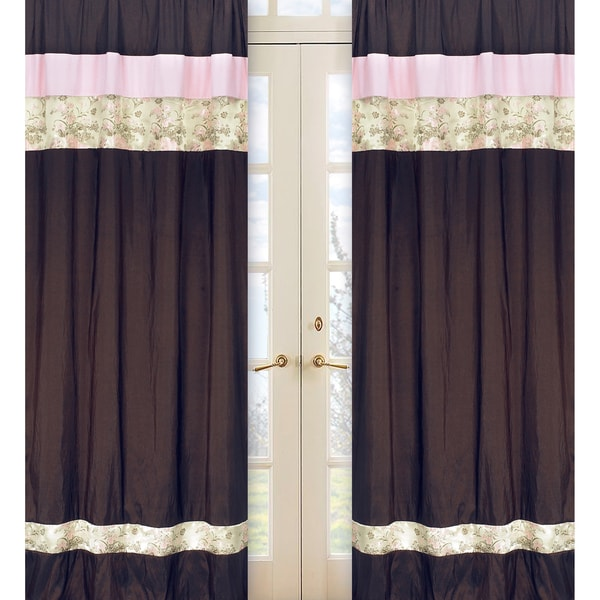 Abby Rose 84-inch Curtain Panel Pair