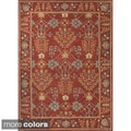 Hand-tufted Transitional Oriental Wool Area Rug (5' x 8')