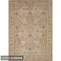Durable Hand-tufted Transitional Oriental Wool Area Rug (9'6 x 13'6)