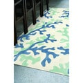 Hand-tufted Transitional Abstract Area Rug (7&#39;6 x 9&#39;6)
