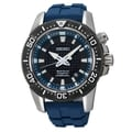 SEIKO Men's Sportura Kinetic Grey/Blue Diver's Watch