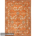 Small Hand-tufted Transitional Oriental Wool Area Rug (2' x 3')