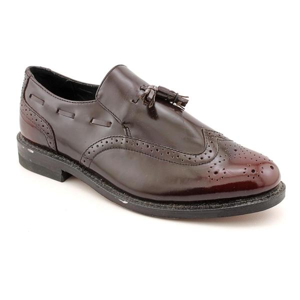 Executive Imperials Men's '369' Leather Dress Shoes - Extra Wide (Size 10.5)