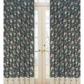 Green Camo 84-inch Curtain Panel Pair
