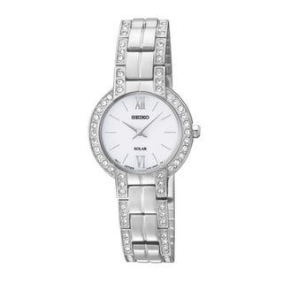 SEIKO Women's Solar Stainless Steel Watch