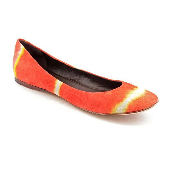 Reedevins Women's 'Tie Dye Ballet Flats' Regular Suede Dress Shoes (Size 8.5)