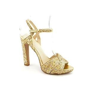 Nine West Women's 'Hot List' Gold Leather Sandals