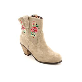 Betsey Johnson Women's 'Yodell' Regular Suede Boots