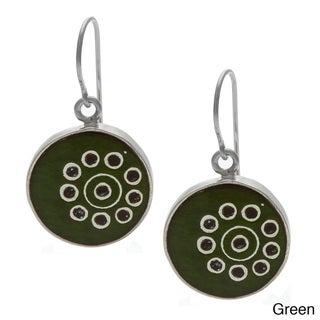 Circle Handcrafted Earrings (Peru)