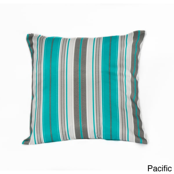 Terrace Stripe 20-inch Outdoor Throw Pillow