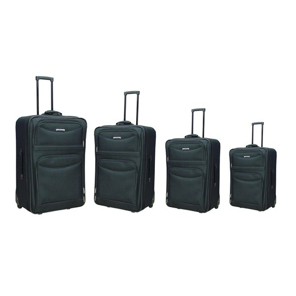 Hercules 'Time Square Collection' 4-piece Rolling Luggage Set