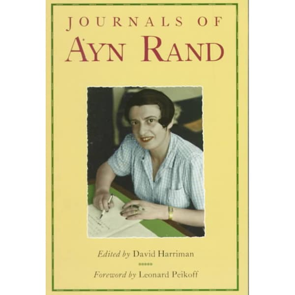 Journals of Ayn Rand (Paperback)