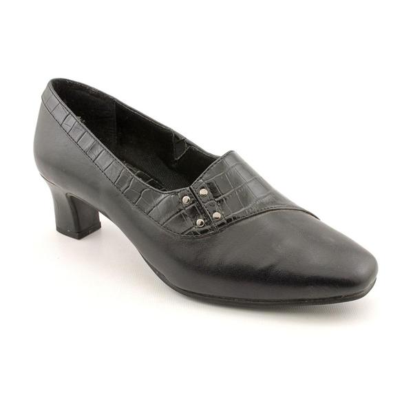 Easy Street Women's '40-2931' Leather Dress Shoes - Extra Wide (Size 8.5)