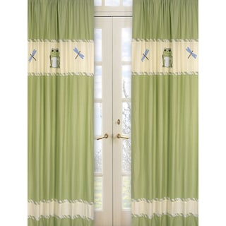 Leap Frog 84-inch Curtain Panel Pair