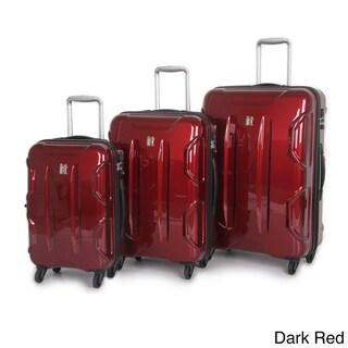International Traveller 'Victoria' 3-piece Hardside Spinner Luggage Set