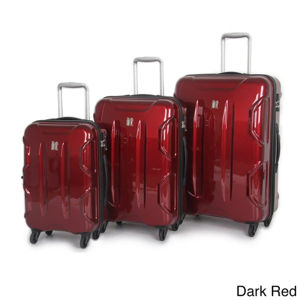 International Traveller 'Victoria' 3-piece Hardside Spinner Luggage Set