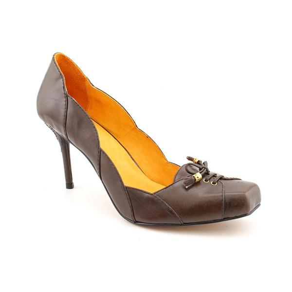 Samanta Women's 'Melissa' Leather Dress Shoes (Size 14)
