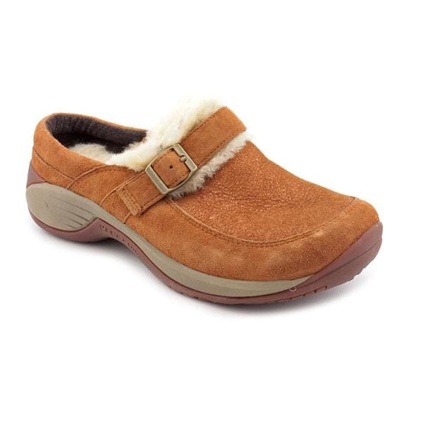 Merrell Women's 'Encore Buckle Puff' Regular Suede Casual Shoes (Size 7.5)
