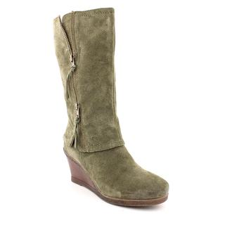 White Mountain Women's 'Wage' Regular Suede Boots (Size 9)