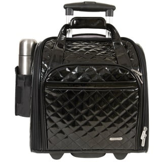 Travelon Black Wheeled Underseat Carry-on with Back-up Bag