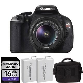 Canon EOS Rebel T3i Digital SLR Camera with 18-55mm Bundle