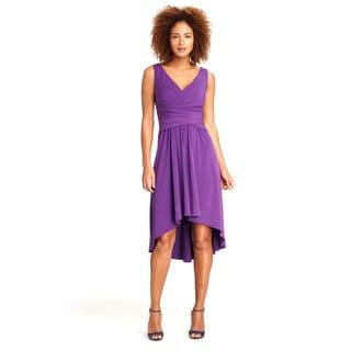 Maggy Boutique Women's Petunia Sleeveless High-low Dress