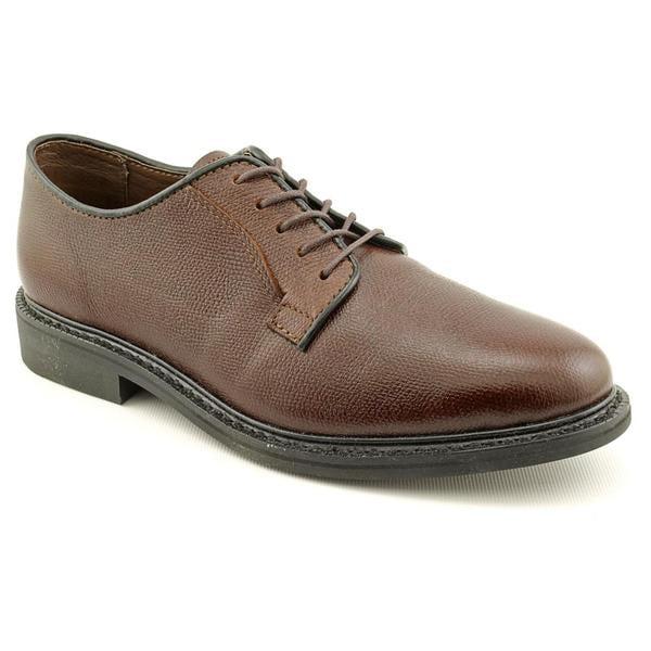 Leather Classics Men's 'Richard' Leather Dress Shoes - Wide (Size 7)
