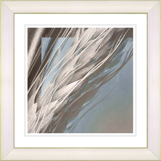 Studio Works Modern 'Shaft of Wheat - Beige' Framed Print