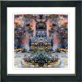 Studio Works Modern 'Enchanted Garden' Framed Print