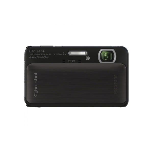 Sony Cyber-shot DSC-TX20 16.2MP Black Digital Camera