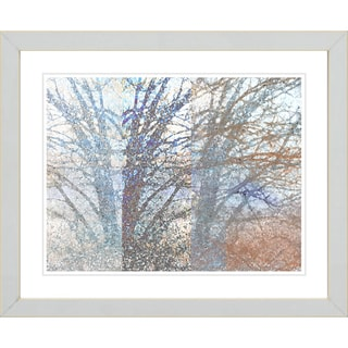 Studio Works Modern 'Winter Branches' Framed Print