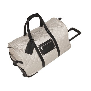 Bugatti Campinas 25-inch Quilted Rolling Upright Duffel Bag