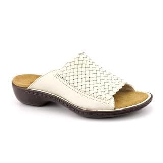 Clarks Women's 'Ina Fancy' Leather Sandals - Narrow (Size 8.5)
