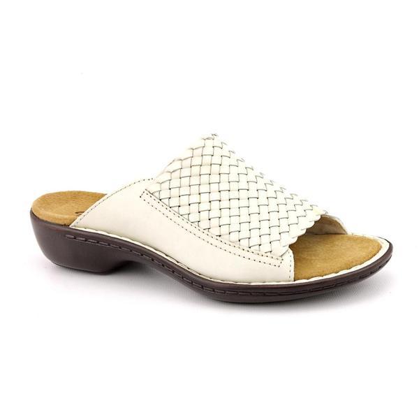 Clarks Women's 'Ina Fancy' Leather Sandals - Narrow (Size 8.5)