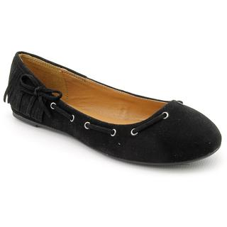 Rampage Women's Black 'Messier' Regular Suede Casual Shoes