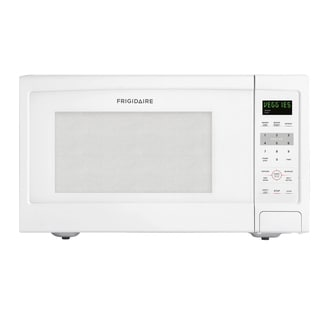 Frigidaire 1.6 Cubic Feet White Countertop Microwave