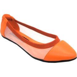 Women's Footzyfolds Caroline Orange