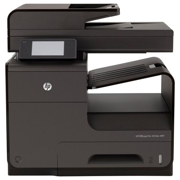 HP Officejet Pro X476DN Inkjet Multifunction Printer - Color - Plain