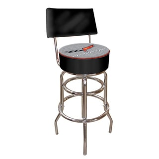 Officially Licensed GM Corvette Padded Bar Stool with Back