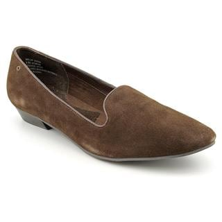 Bass Women's 'Hollis' Regular Suede Dress Shoes - Wide (Size 8)
