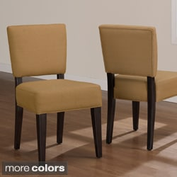 Savannah Espresso Dining Chairs (Set of 2)