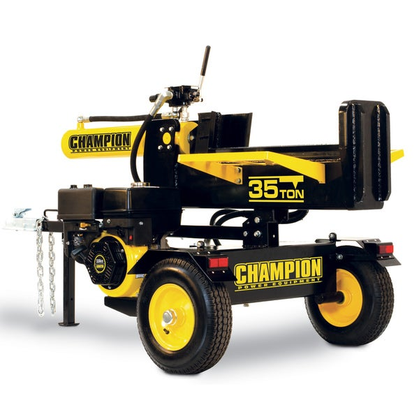 Champion Power Equipment 93520 Horizontal/ Vertical 35-ton Log Catcher