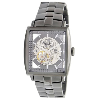 Kenneth Cole Men's Automatic Grey Stainless Steel Grey Dial Watch